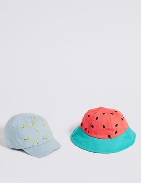 Pembe 2'li Şapka