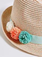 Ponpon Detaylı Şapka