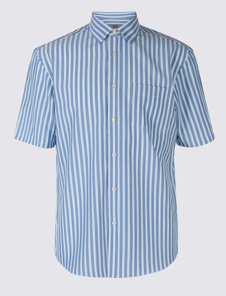 Easy Care Modal Karışımlı Gömlek
