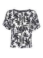 Kadın Bej Kısa Kollu Kimono T-Shirt