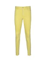 Sarı Orta Belli Super Skinny Jean Pantolon