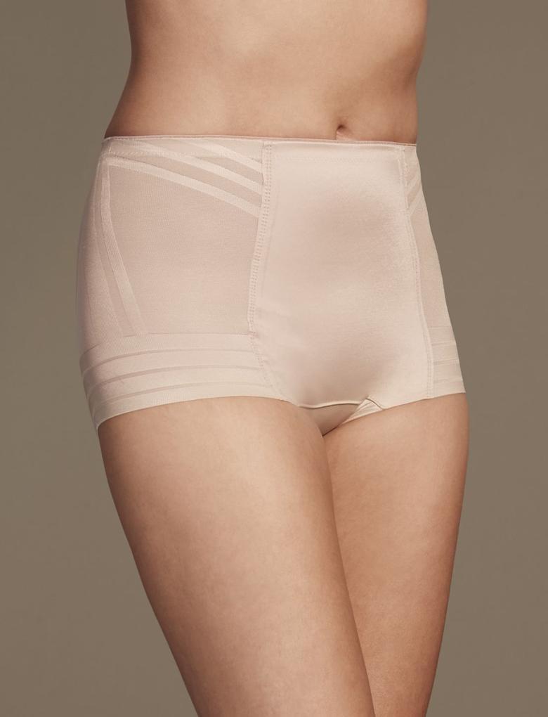 Bej Yüksek Sıkılıkta Magicwear™ Low Leg Külot