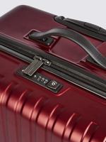 Kırmızı 4 Tekerlekli Büyük Boy Sert Yüzeyli Valiz