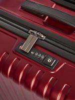 Ev Kırmızı 4 Tekerlekli Orta Boy Sert Yüzeyli Valiz