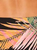 Desenli High Leg Bikini Altı