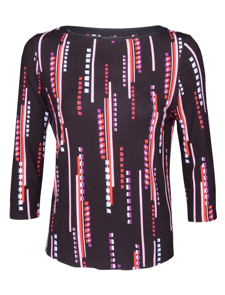 Kadın Siyah Jarse Bluz