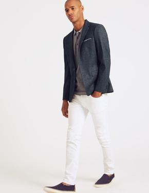 Slim Fit Ceket