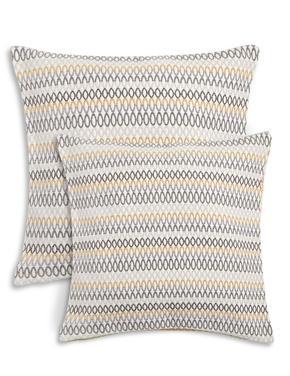 Kahverengi Desenli Şönil Yastık