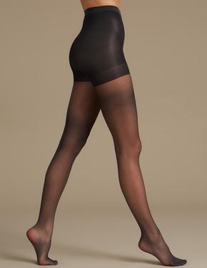 2'li Paket 10 Denye Secret Slimming™ Toparlayıcı Özellikli Mat Külotlu Çorap