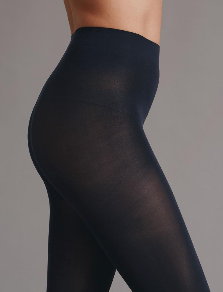 Kadın Lacivert 60 Denye Külotlu Çorap