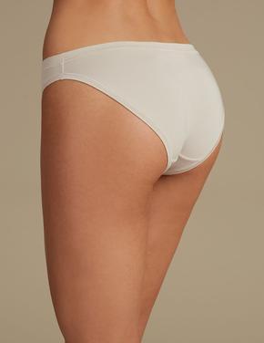Bej Modal Karışımlı Flexifit™ Bikini Külot