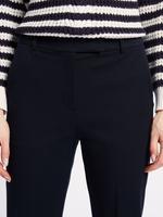 Kadın Lacivert Pamuklu Streç Pantolon