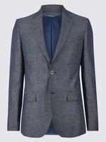 Pamuklu Tailored Fit Ceket