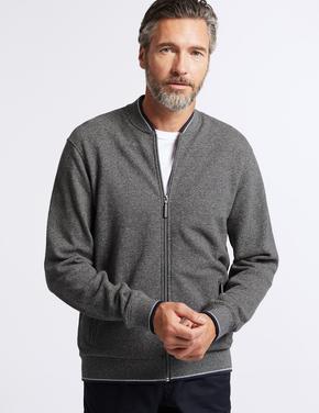 Saf Pamuklu Ceket