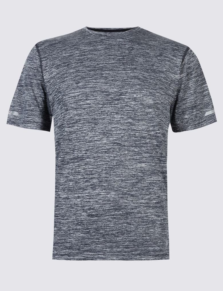 Active Sıfır Yaka Slim Fit T-Shirt