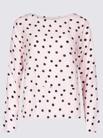 Kadın Turuncu Uzun Kollu Bluz