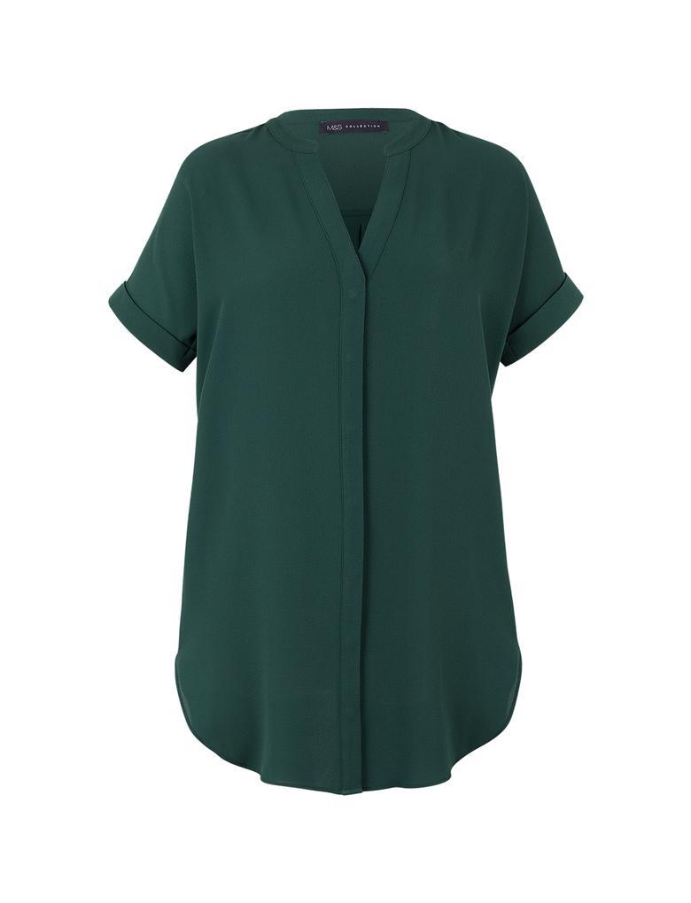 Kısa Kollu Tunik Bluz