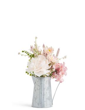 Yapay Çiçekler ve Sürahi