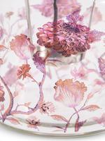 Çiçek Desenli Küçük Mumluk