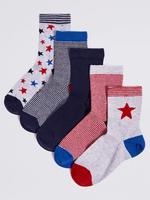 5 Çift Çorap (Freshfeet™ Teknolojisi ile)