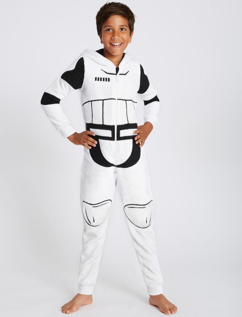Erkek Çocuk Beyaz Star Wars™ Stormtrooper Tulum