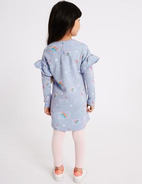 Pamuklu Elbise (StayNew™ Teknolojisi ile)