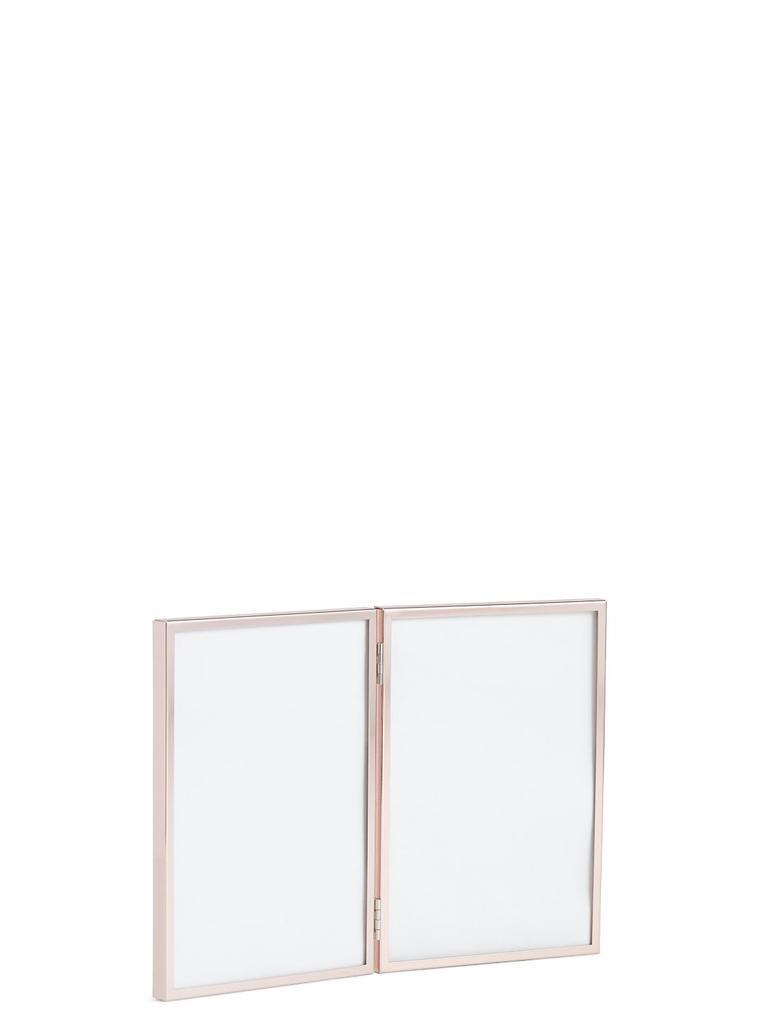 Çift Çerçeveli Metal Fotoğraf Çerçevesi 13 x 18cm