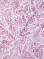 Ev Pembe Çiçek Desenli Yatak Takımı