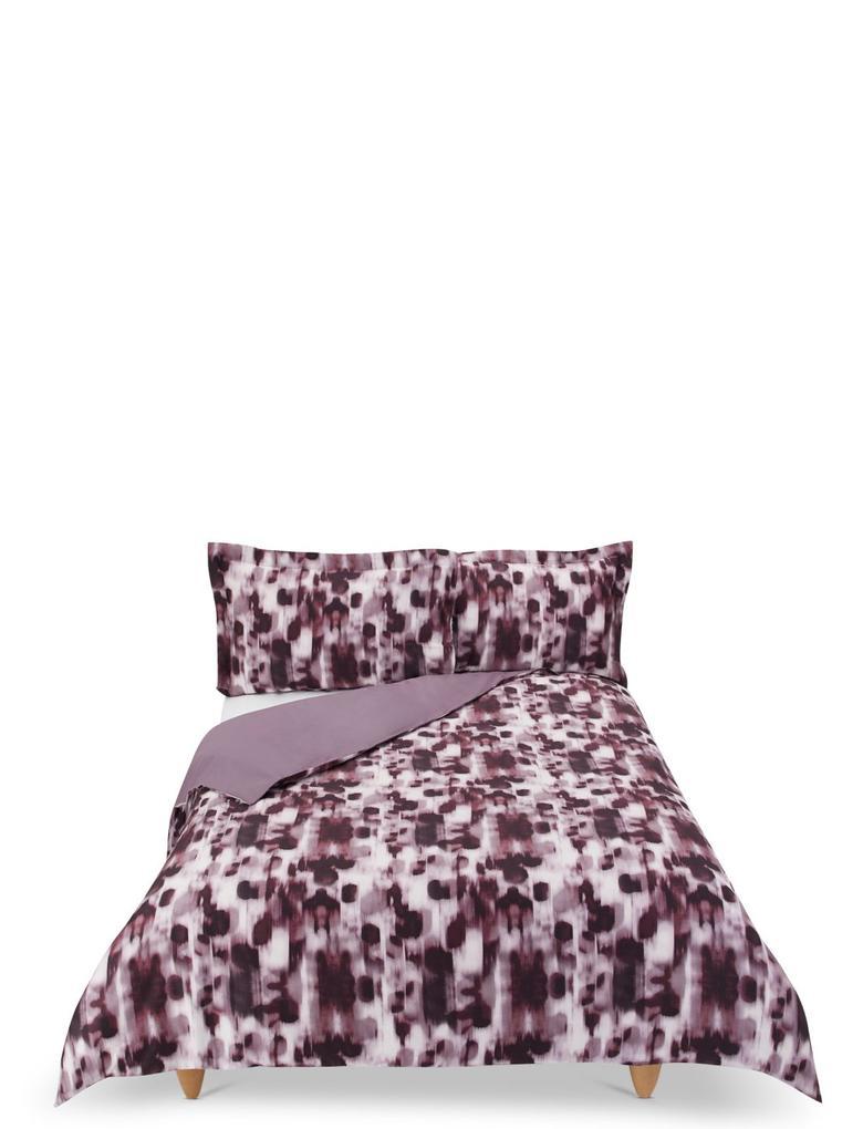 Ev Bordo Desenli Yatak Takımı