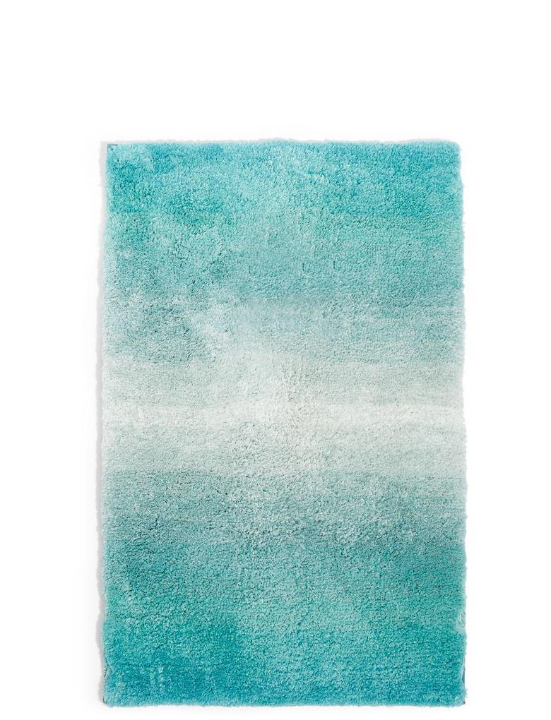 Mavi Hızlı Kuruyan Banyo Paspası