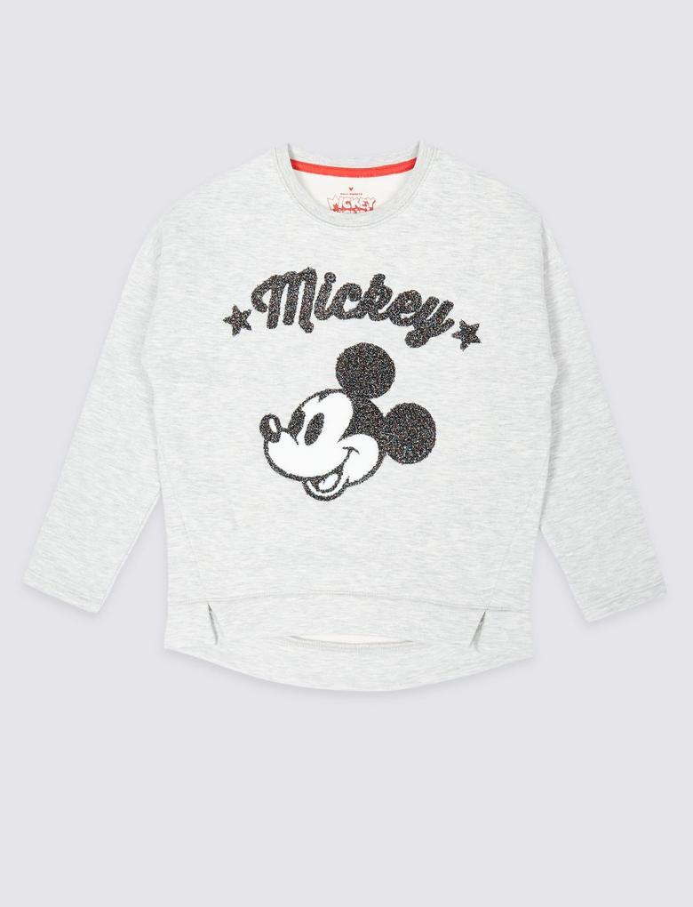 Mickey Mouse™ Desenli Sweatshirt