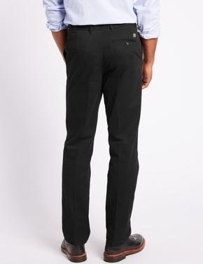 Saf Pamuklu Regular Fit Chino Pantolon