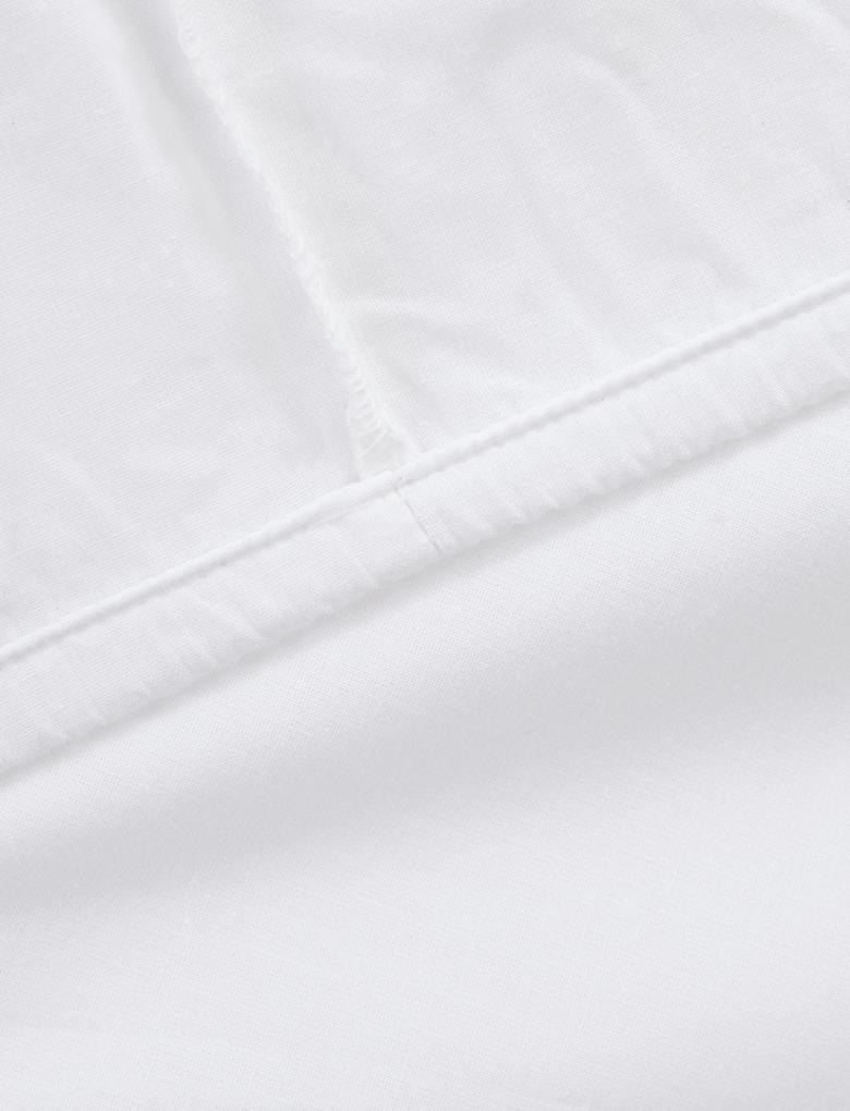 Beyaz Düz Renk Çarşaf
