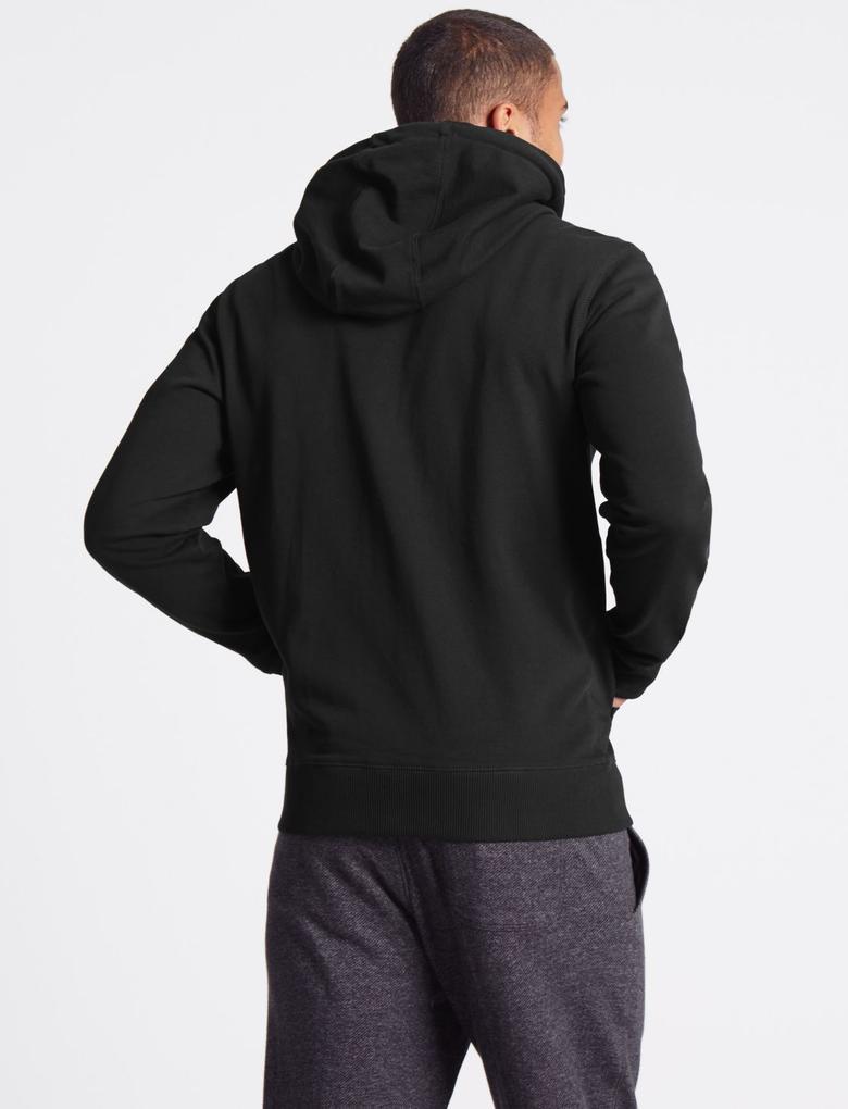 Pamuklu Regular Fit Kapüşonlu Sweatshirt