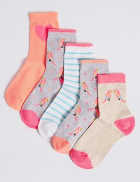 5 Çift Çorap