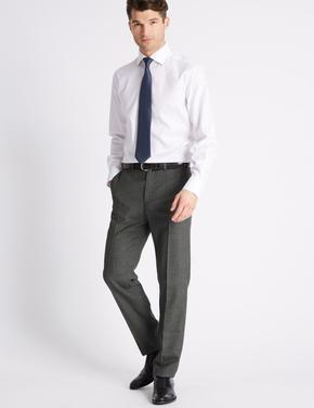 Tailored Fit Yünlük Pantolon