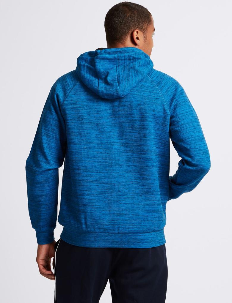 Active Pamuklu Kapüşonlu Sweatshirt