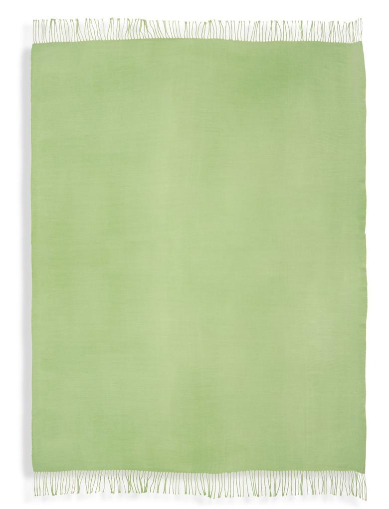 Ev Yeşil Yumuşak Koltuk Şalı