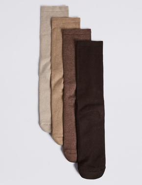 4'lü Pamuklu Freshfeet™ Çorap