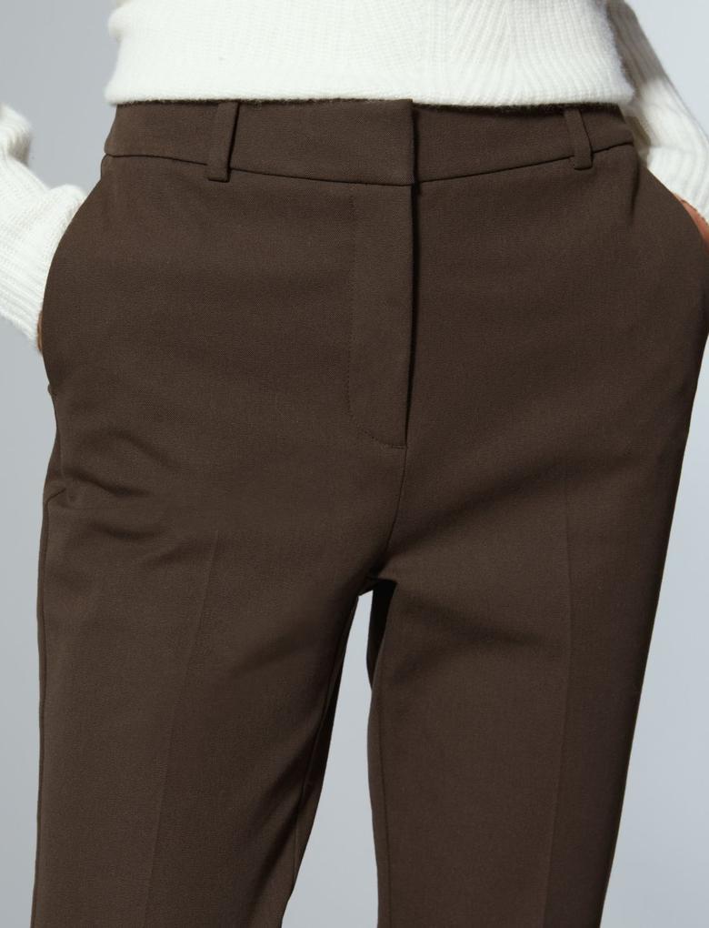 Pamuklu Slim Leg Pantolon