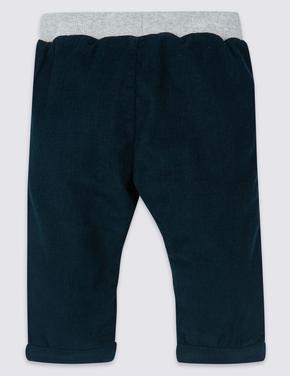 Saf Pamuklu Pantolon