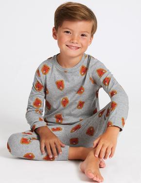 2'li Lion Pijama Takımı