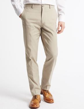 Pamuklu Tailored Fit Pantolon