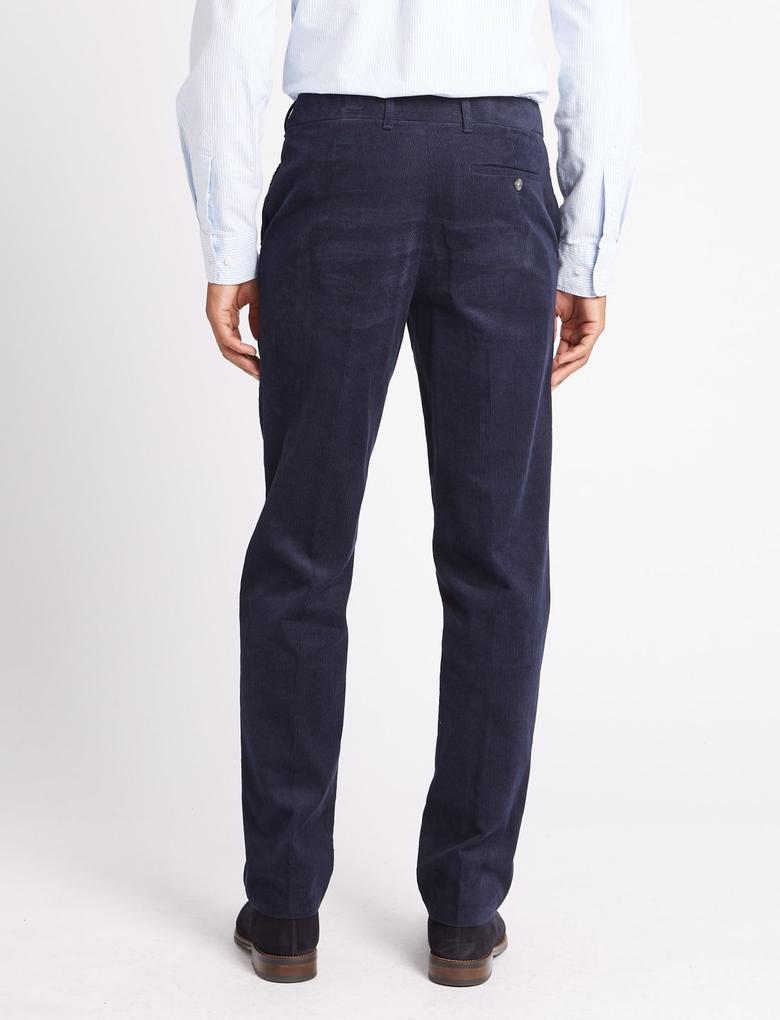 Mavi Regular Fit Saf Pamuklu Pantolon