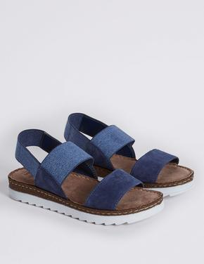 Süet Sandalet