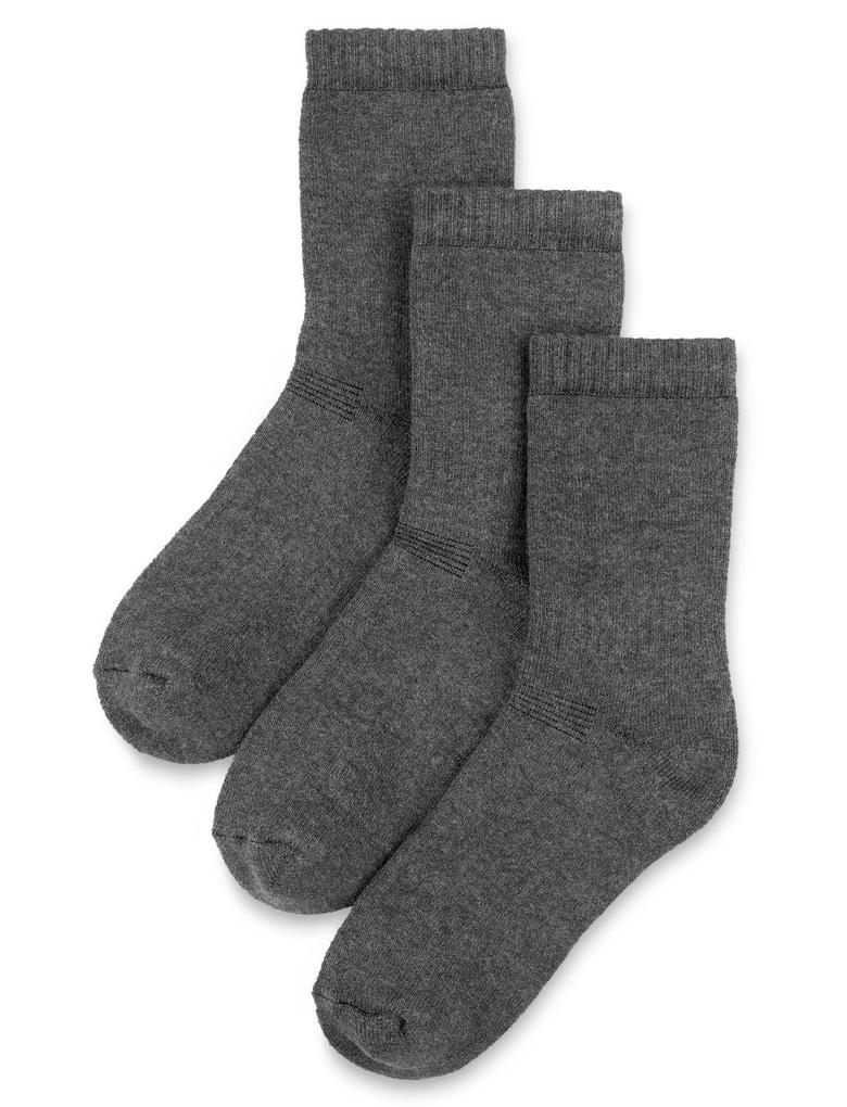 Gri 3'lü Termal Çorap