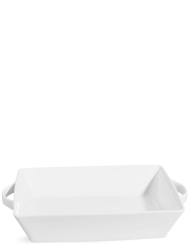 Beyaz Maxim Büyük Fırın Tabağı