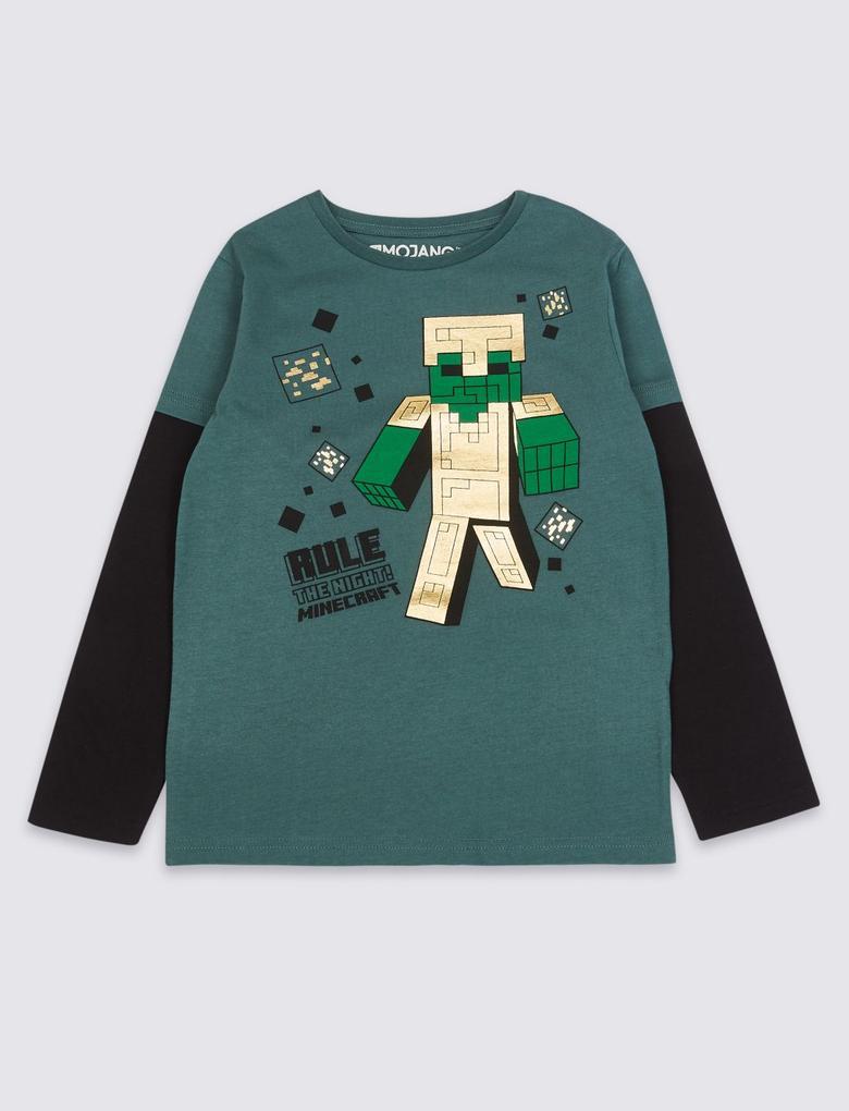 Saf Pamuklu Minecraft™ T-Shirt