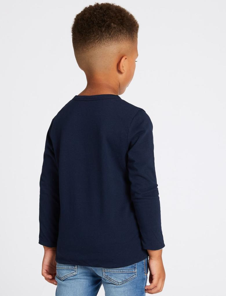 2'li Uzun Kollu T-shirt