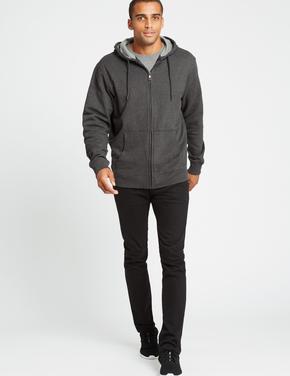 Pamuklu Kapüşonlu Sweatshirt